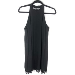Black halter top lulu's dress J30